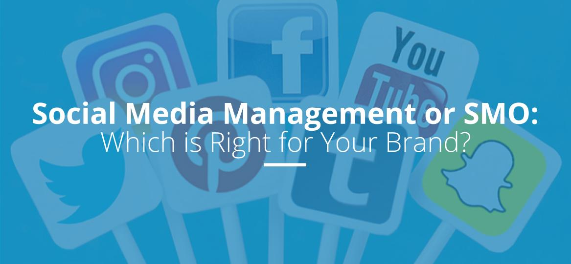Social Media Management or SMO